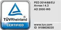 PED-Certificated