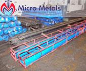 446 ASTM B160 Nickel 201 Round Bars packaging