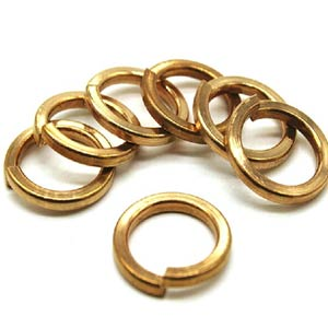 copper washer manufacturers in india, Copper Spring Washer & Crush