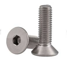 Stainless Steel SS 316h Flat Head Screws
