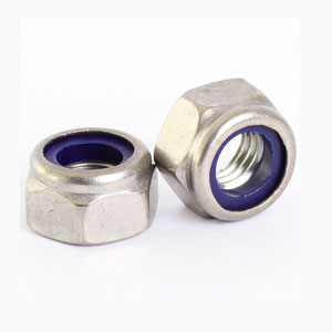 Stainless Steel Lock Nuts, SS Wheel Lock Nut & Nylon Lock