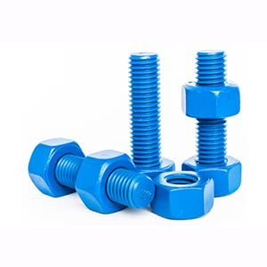 PTFE Coated Fasteners, PTFE Coated Bolts and Nuts, Screws