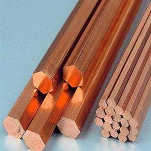 Chromium And Beryllium Copper hex bar