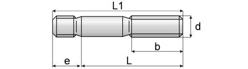 DIN 938 Stud Dimensions