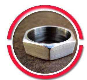 stainless steel hex nut ring