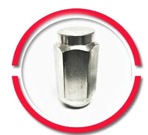 stainless steel lug nuts 1/2-20