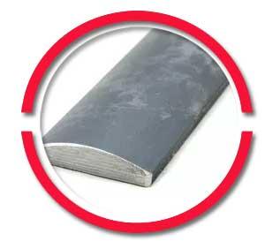ASTM A105 Carbon Steel Half Round bar
