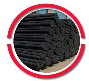 ASTM A105 Carbon Steel Black bar