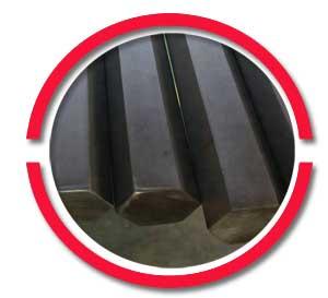 ASTM A105 Carbon Steel Hex bar