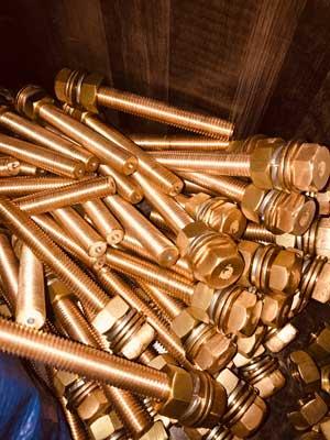Alloy 330 Brass Bolts