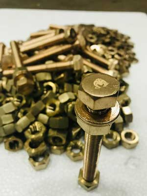 Aluminium Bronze Nut Bolt Washer