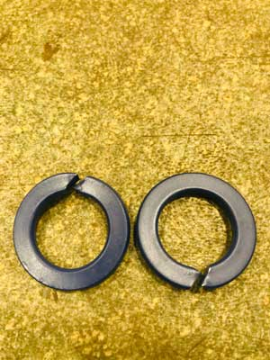 SS 410 PTFE Coated Spring Washer